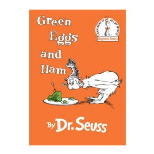 Dr. Seuss Green Eggs and Ham Book