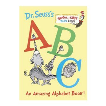 Dr. Seuss's ABC: An Amazing Alphabet Board Book