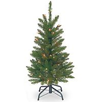 3-ft. Pre-Lit Kingswood Fir Pencil Artificial Christmas Tree