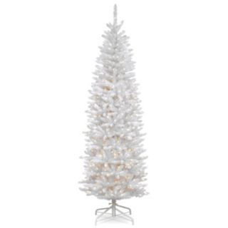 7-ft. Kingswood White Fir Pencil Artificial Christmas Tree