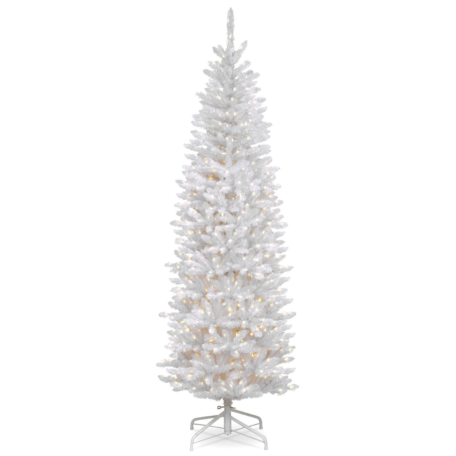 7 Ft. Kingswood White Fir Pencil Artificial Christmas Tree