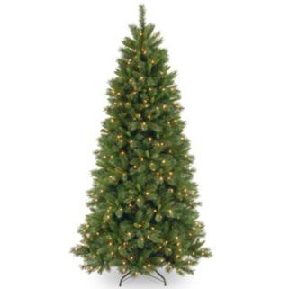 7.5-ft. Pre-Lit Dual LED Lehigh Valley Pine Artificial Christmas Tree