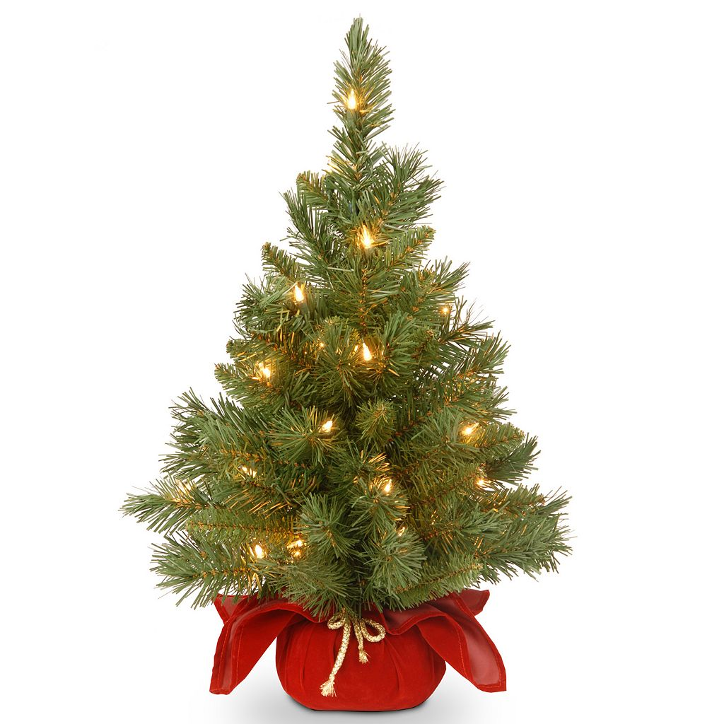 24-in. Pre-Lit LED Majestic Fir Artificial Christmas Tree