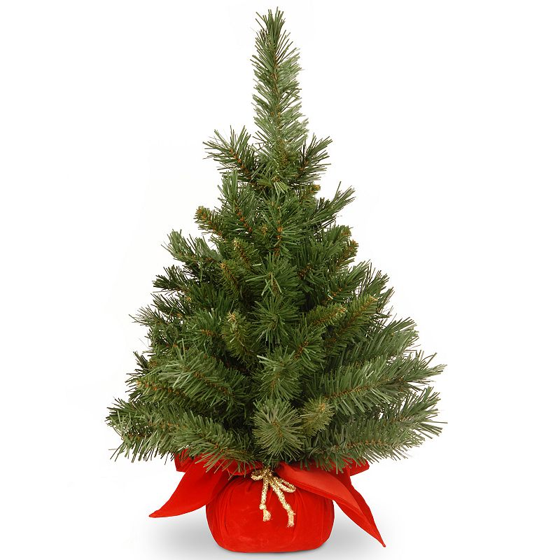 24-in. Majestic Fir Artificial Christmas Tree. Green