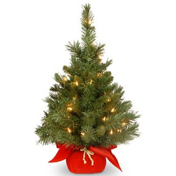 24-in. Pre-Lit Majestic Fir Artificial Christmas Tree