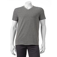 Men's Apt. 9® Modern-Fit Striped Stretch V-Neck Lounge Tee