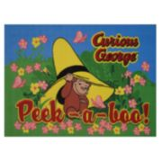 Fun Rugs Curious George Peekaboo Rug