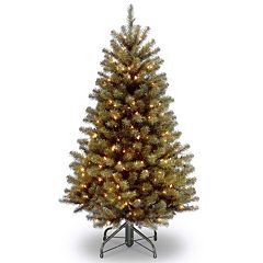 4.5-ft. Pre-Lit North Valley Spruce Artificial Christmas Tree