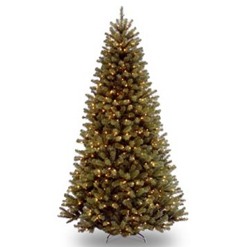 9-ft. Pre-Lit North Valley Spruce Artificial Christmas Tree