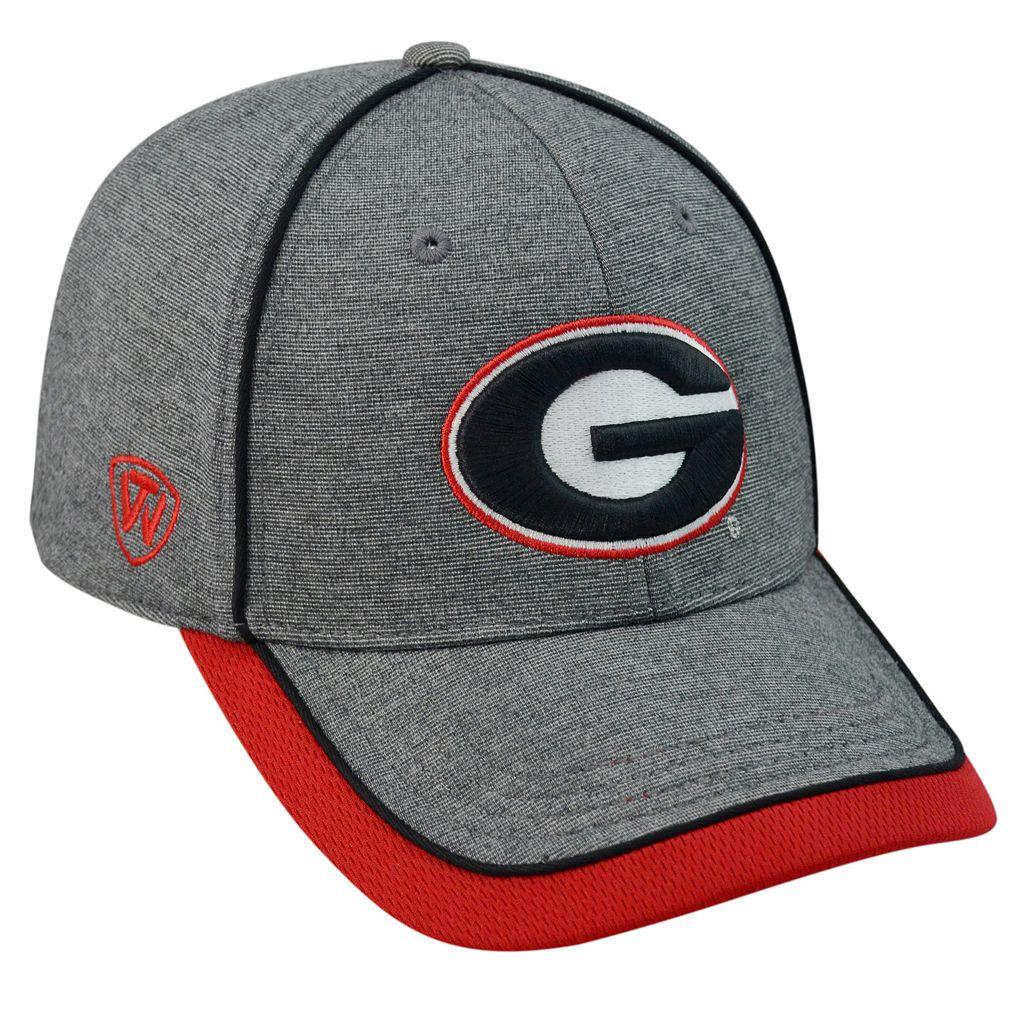 Adult Top of the World Georgia Bulldogs Memory Fit Cap