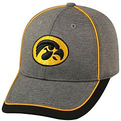 Adult Top of the World Iowa Hawkeyes Memory Fit Cap