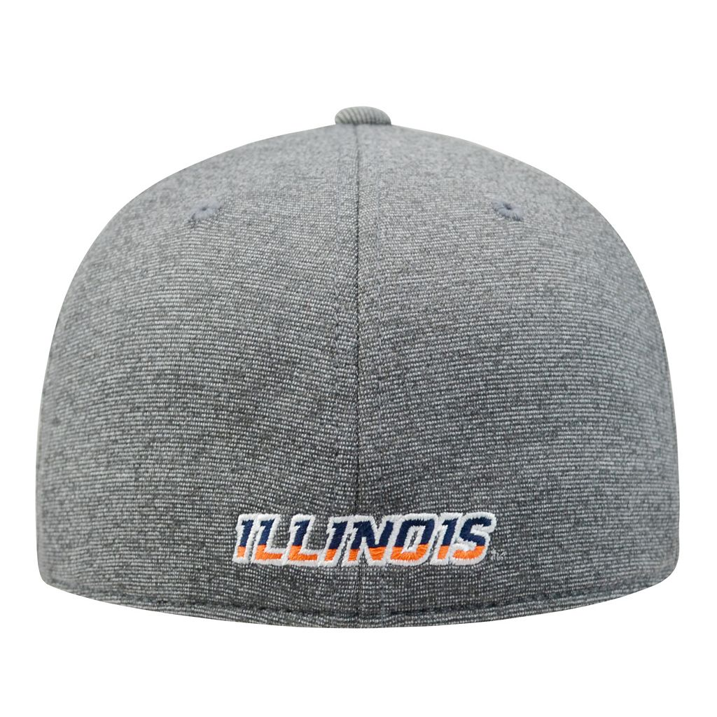 Adult Top of the World Illinois Fighting Illini Memory Fit Cap