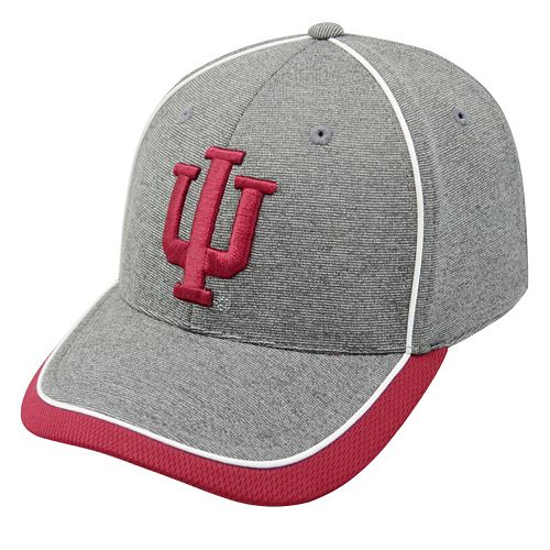 Adult Top of the World Indiana Hoosiers Memory Fit Cap