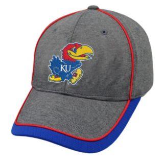 Adult Top of the World Kansas Jayhawks Memory Fit Cap