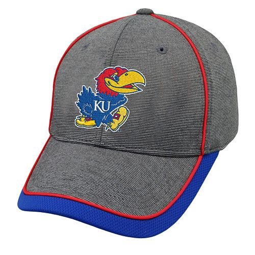 Adult Top of the World Kansas Jayhawks Memory Fit Cap