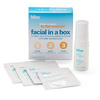 bliss Triple Oxygen To The Rescue! Facial In A Box Gift Set