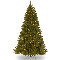7.5-ft. Pre-Lit Dual Color LED North Valley Spruce Artificial Christmas Tree