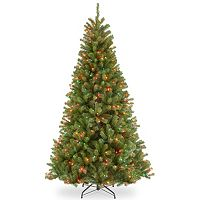 7.5-ft. Pre-Lit Multicolor North Valley Spruce Artificial Christmas Tree