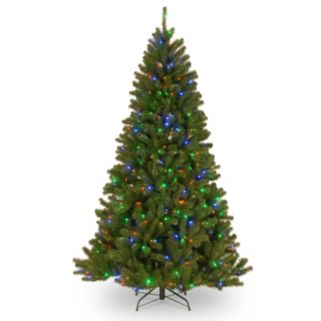 7.5-ft. Pre-Lit Dual LED North Valley Spruce Artificial Christmas Tree