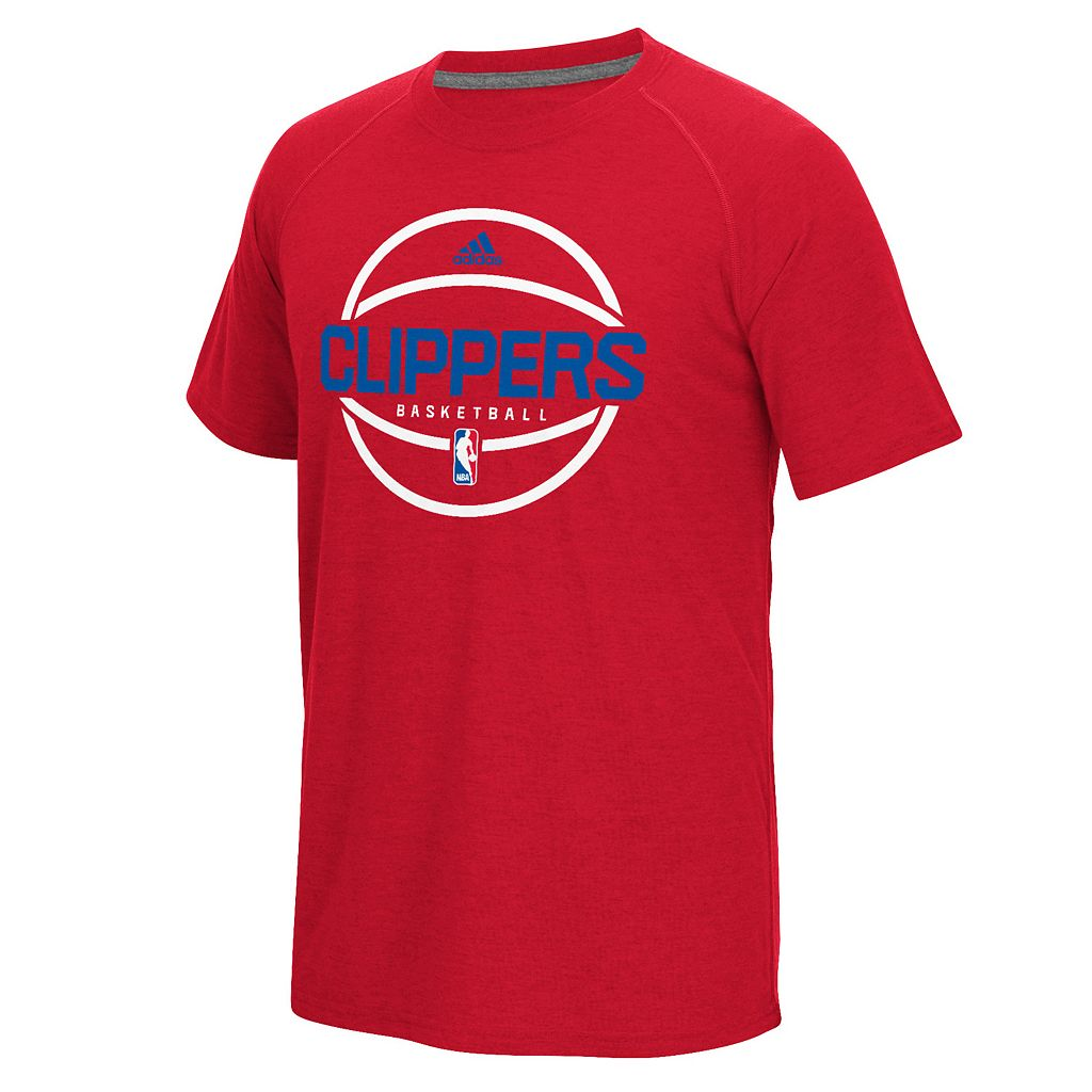 Men's adidas Los Angeles Clippers Pre-Game Ball Tee
