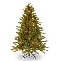 4.5-ft. Pre-Lit ''Feel Real'' Avalon Spruce Medium Artificial Christmas Tree