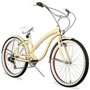 Firmstrong Women's 26 in Bella Fashionista Seven-Speed Beach Cruiser Bike