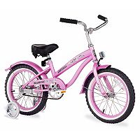 Firmstrong Girls 16 in Bella Single-Speed Bike with Training Wheels