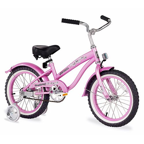 Firmstrong Girls 16-in. Bella Single-Speed Bike with Training Wheels