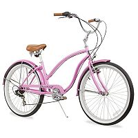 Firmstrong Women's 26-in. Chief Lady Seven-Speed Beach Cruiser Bike
