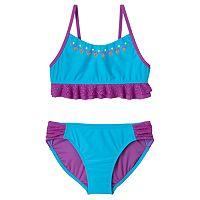 Girls 4-16 SO® Embellished Bikini Swimsuit Set