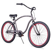 Firmstrong Men's 26 in Chief Man Three-Speed Beach Cruiser Bike