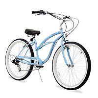 Firmstrong Women's 26 in Urban Seven-Speed Beach Cruiser Bike