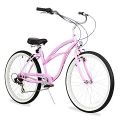 Firmstrong Women's 26-in. Urban Seven-Speed Beach Cruiser Bike