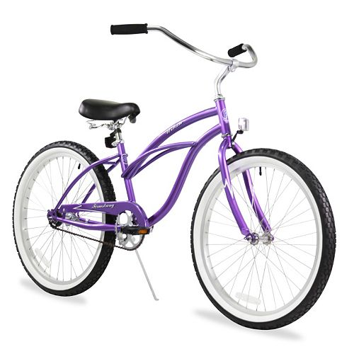 Firmstrong Women's 24-in. Urban Single-Speed Beach Cruiser Bike
