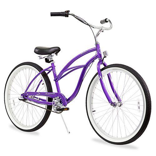 Firmstrong Women's 26-in. Urban Three-Speed Beach Cruiser Bike