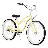Firmstrong Women's 26-in. Urban Three-Speed Beach Cruiser Bike