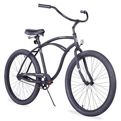 Firmstrong Men's 26 in Urban Alloy Single-Speed Beach Cruiser Bike