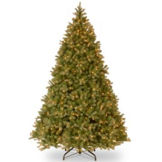 10-ft. Pre-Lit ''Feel Real'' Downswept Douglas Fir Artificial Christmas Tree
