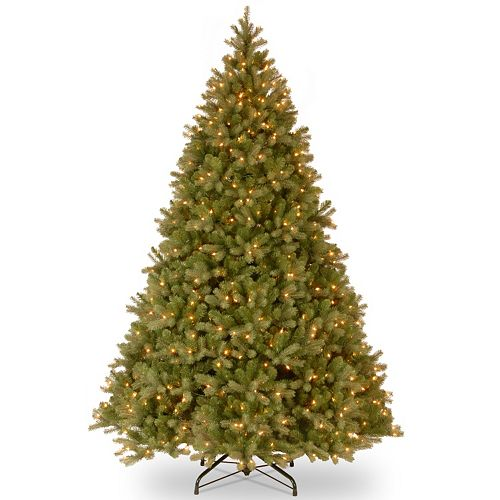 10-ft. Pre-Lit ''Feel Real'' Downswept Douglas Fir Artificial Christmas Tree