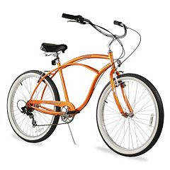 Firmstrong Men's 26 in Urban Seven-Speed Beach Cruiser Bike