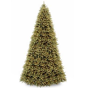 12-ft. Pre-Lit ''Feel Real'' Downswept Douglas Fir Artificial Christmas Tree