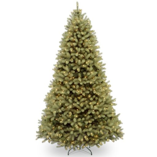 9-ft. Pre-Lit Dual LED ''Feel Real'' Downswept Douglas Fir Artificial Christmas Tree