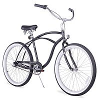 Firmstrong Men's 26 in Urban Three-Speed Beach Cruiser Bike