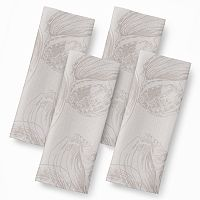 Celebrate Local Life Together Shell 4 pc Napkin Set