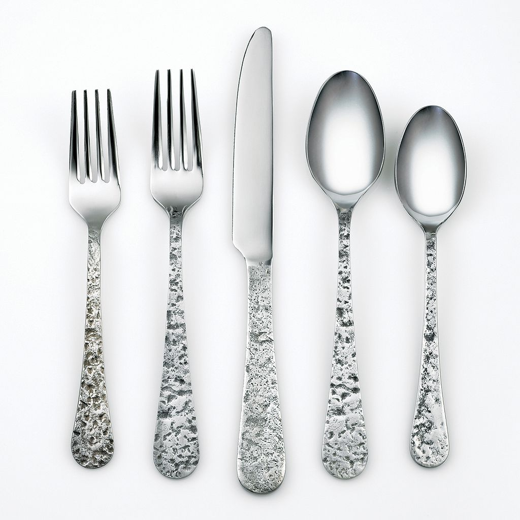 Cambridge Kashmira 20-pc. Antiqued Flatware Set