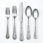 Cambridge Kashmira 20 pc Antiqued Flatware Set