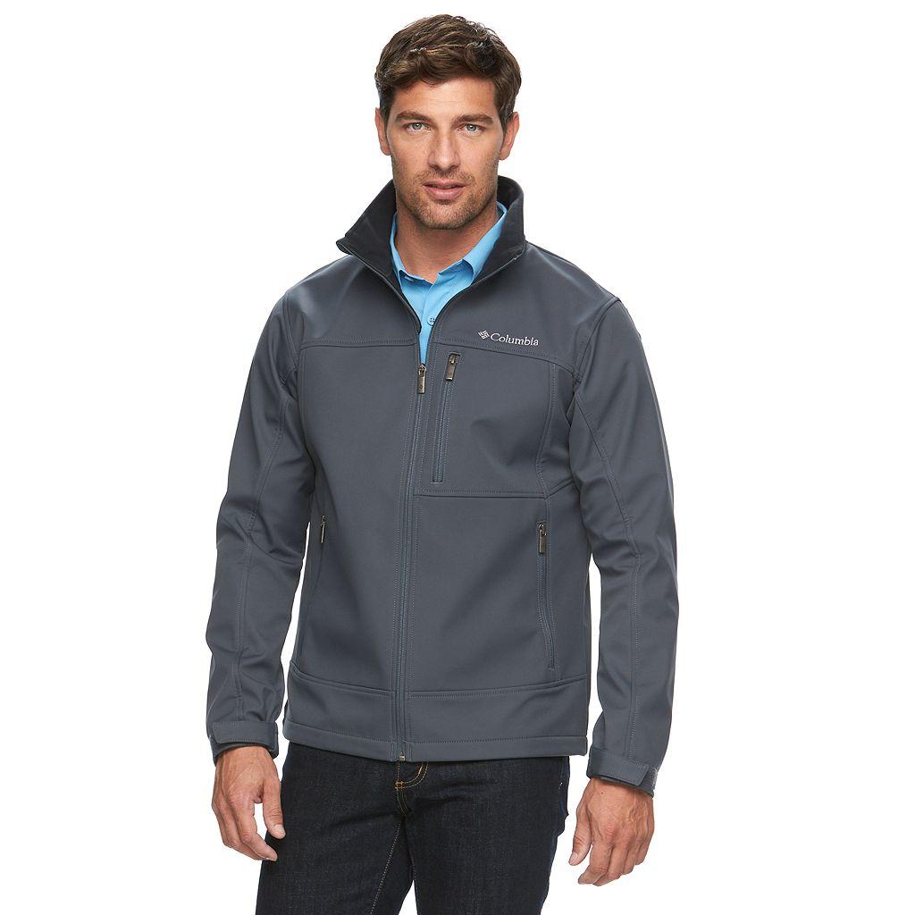 Big & Tall Columbia Smooth Spiral Softshell Jacket