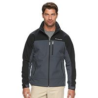 Big & Tall Columbia Smooth Spiral Softshell Jacket