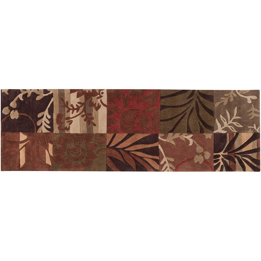 Surya Cosmopolitan Floral Patchwork Rug