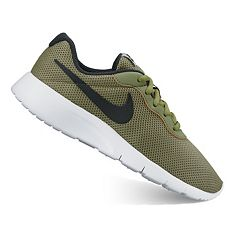 ... nike tanjun boys running shoes. legion green